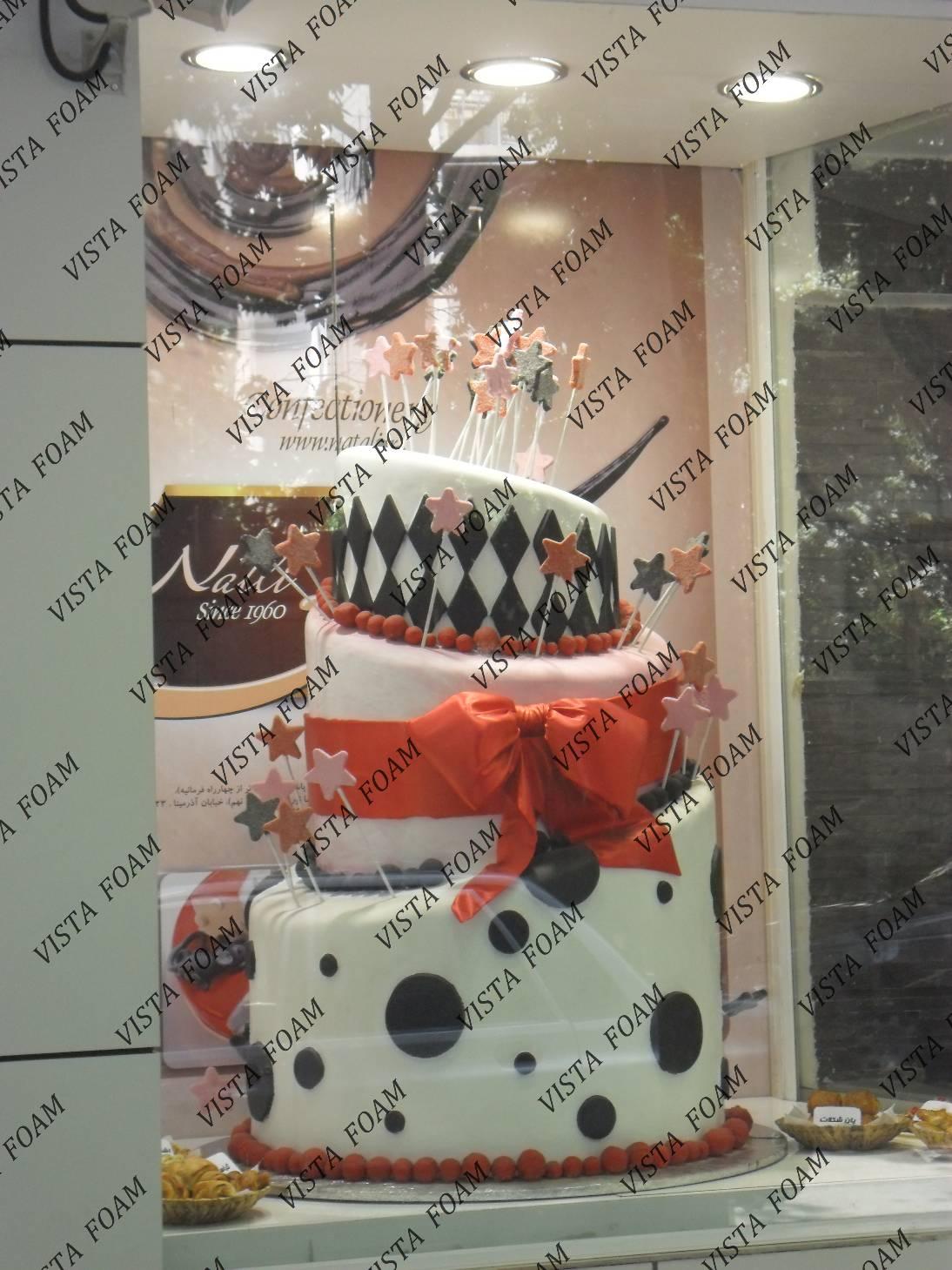 ماکت حجمی و سه بعدی کیک